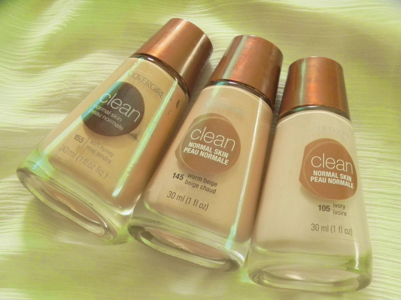 Covergirl's Clean Liquid Makeup Foundation (Normal Skin) Review
