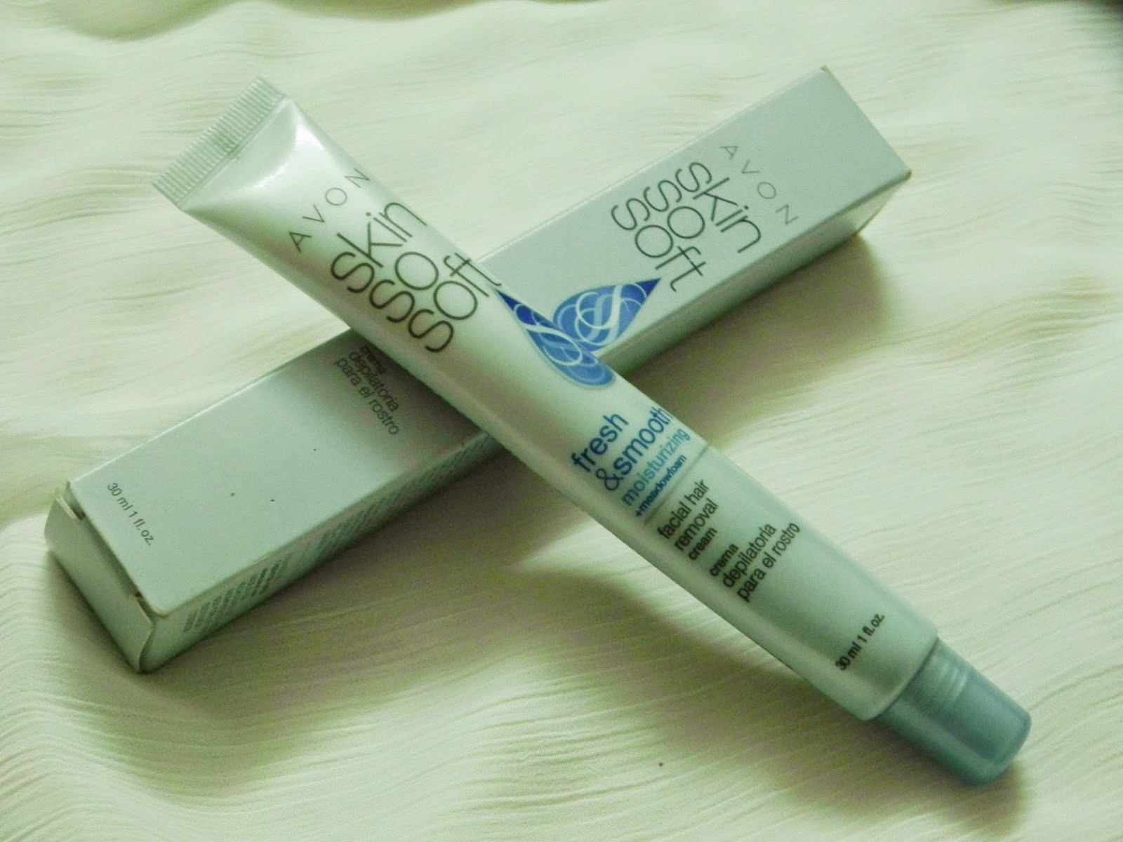 Avon Skin-so-Soft Facial Hair Removal Cream (sensitive skin) Review.